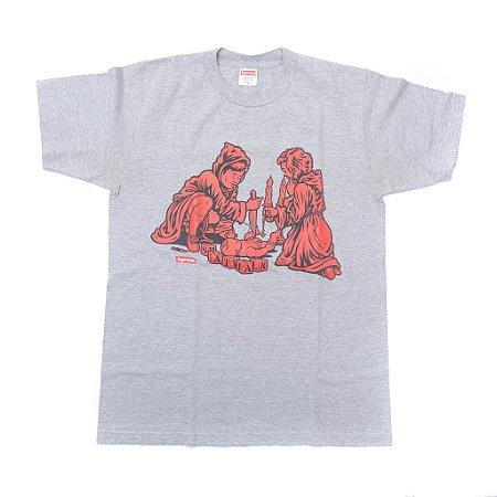 "Supreme x Sean Cliver - Camiseta Dick And Jane ""Grey"" SS08"