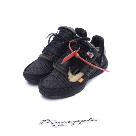 """Nike Air Presto x OFF-WHITE """"Black"""" -USADO-"""