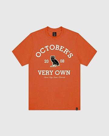 """OVO - Camiseta Collegiate Arch """"Orange"""""""