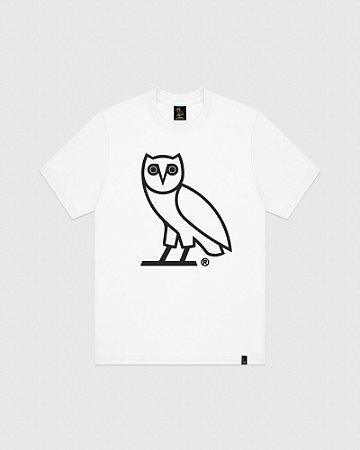 """OVO - Camiseta OWL Logo """"White"""""""