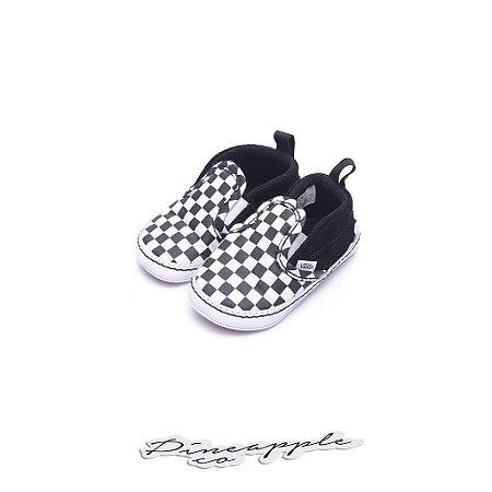 """Vans Slip-On Checkerboard """"Black/White"""" (infant)"""
