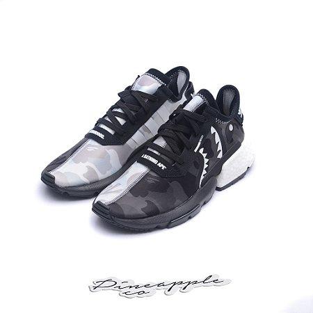 "adidas POD S3.1 x Bape x Neighborhood ""Black/White"""