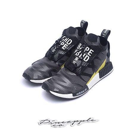 "adidas NMD TS1 x Bape x Neighborhood ""Black/White"""