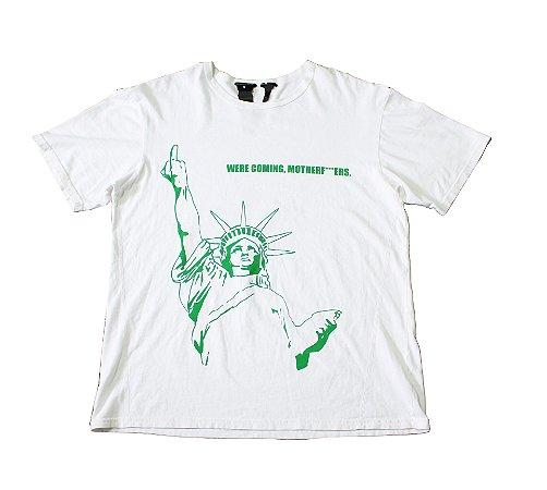 "VLONE - Camiseta Liberty Statue- NYC Pop Up ""White"""