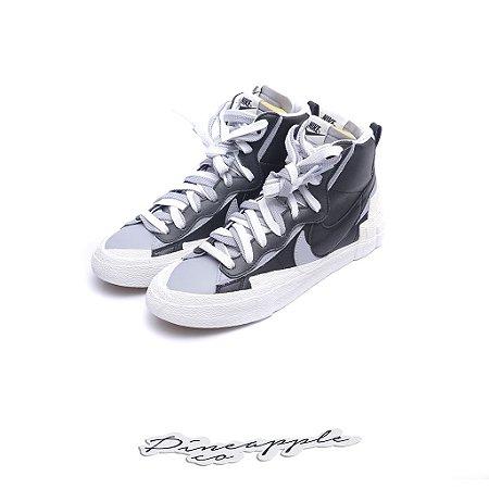 """Nike Blazer Mid x sacai """"Black/Wolf Grey"""" -NOVO-"""