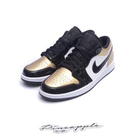 "Nike Air Jordan 1 Low ""Gold Toe"""