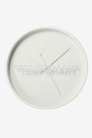 "IKEA x VIRGIL ABLOH - Relógio ""Temporary"""