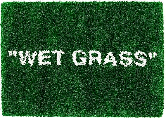 "IKEA x VIRGIL ABLOH - Tapete ""WET GRASS"""