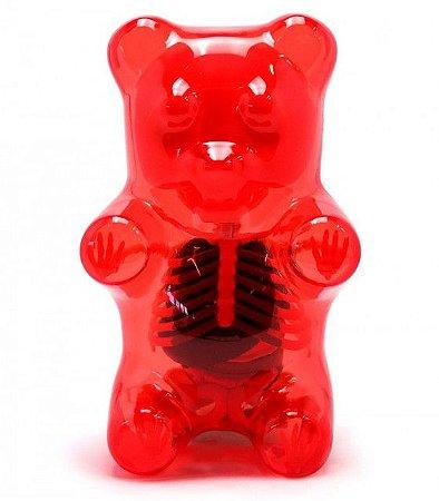 "Jason Freeny - Gummi Bear Funny Anatomy ""Red"""