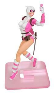 "Diamond x Marvel - Boneco Gwenpool ""White/Pink"""