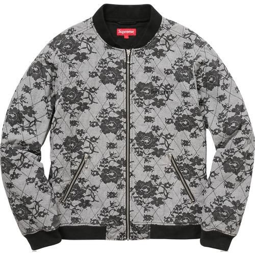 """SUPREME - Jaqueta Quilted Lace """"Grey"""""""