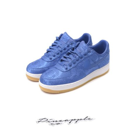 "Nike Air Force 1 Low x CLOT ""Blue Silk"" -NOVO-"