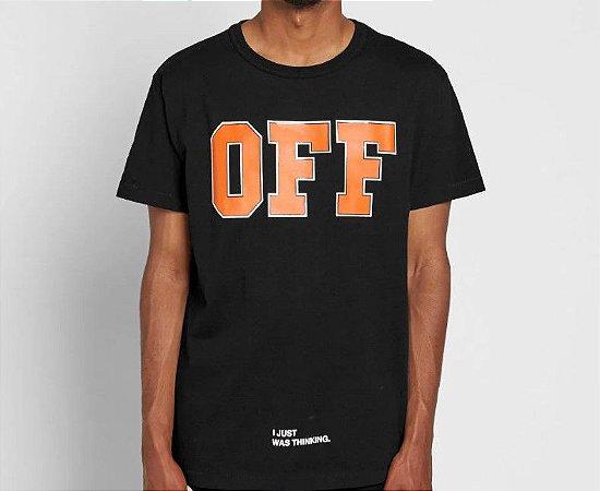 """OFF-WHITE - Camiseta OFF """"Black"""""""