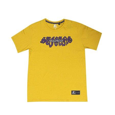 "SUFGANG x Starter - Camiseta Embroidered ""Yellow"""