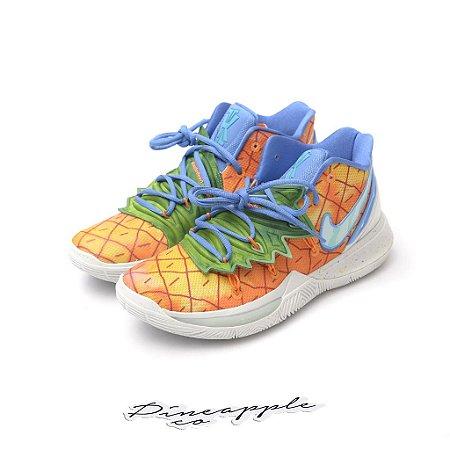 "Nike Kyrie 5 Spongebob ""Pineapple House"" -NOVO-"