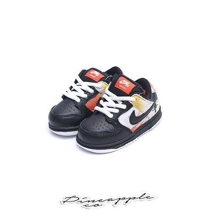 "Nike SB Dunk Low Raygun Tie-Dye ""Black"" (Infant/GS)"
