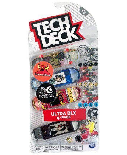 TECH DECK - Ultra DLX Pack 4