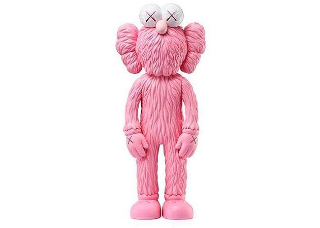 "KAWS - Boneco BFF Vinyl Open Edition ""Pink"""
