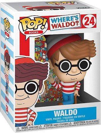FUNKO POP! - Boneco Where's Waldo? #24 -NOVO-