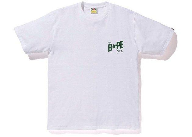 """BAPE - Camiseta Bapesta Color """"White"""""""