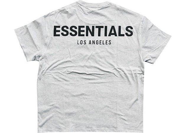 """FOG - Camiseta Essentials Los Angeles 3M Logo Boxy """"Grey"""""""