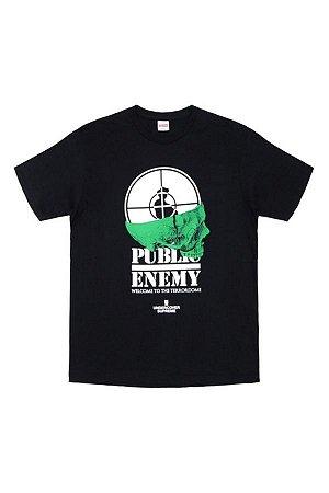 "SUPREME x UNDERCOVER/ PUBLIC ENEMY - Camiseta Terrordome ""Black"""