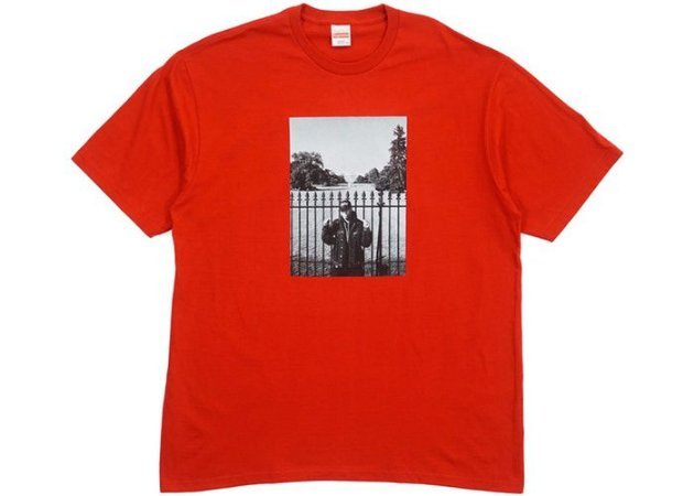 "SUPREME x UNDERCOVER/PUBLIC ENEMY - Camiseta White House ""Red"""
