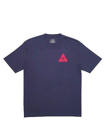 PALACE - Camiseta Velvet Pink Logo ''Navy''