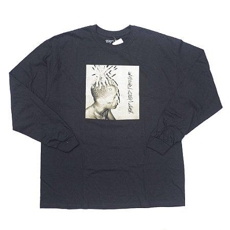 """XXXTENTACION - Camiseta Manga Longa Bad Vibes Forever """"Black"""""""