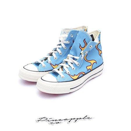 "Converse Chuck Taylor All-Star 70s Hi x Golf le Fleur ""Flames"" -NOVO-"