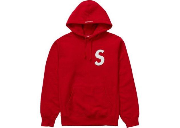 "SUPREME - Moletom S Logo Sweatshirt ""Red"""