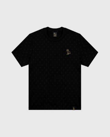 "OVO - Camiseta Logo Monogram ""Black"""