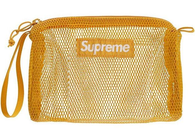 "SUPREME - Bolsa Necessaire Utility Pouch SS20 ""Gold"""