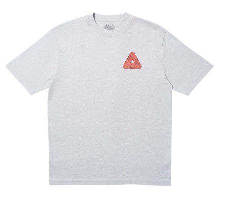 """PALACE - Camiseta Steaming """"Grey"""""""