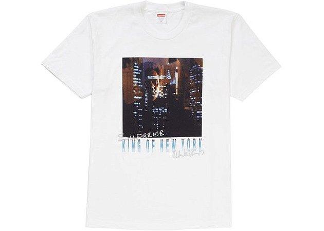 "SUPREME - Camiseta Christopher Walken King Of New York ""White"""