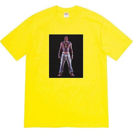 "SUPREME - Camiseta Tupac Hologram ""Yellow"""