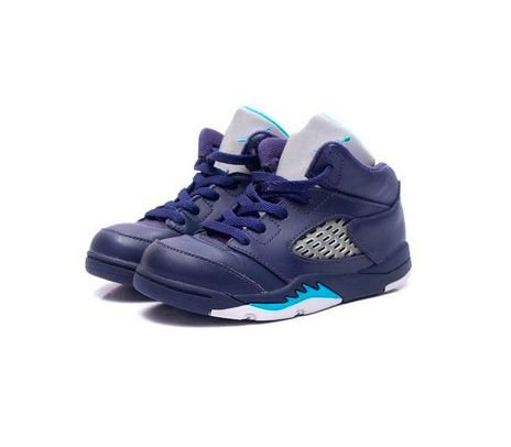 "Nike Air Jordan 5 Retro ""Pre-Grape"" (Infantil) -USADO-"