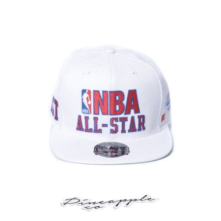 "MITCHELL & NESS - Boné NBA Fitted All Star 7 3/8 ""White"""