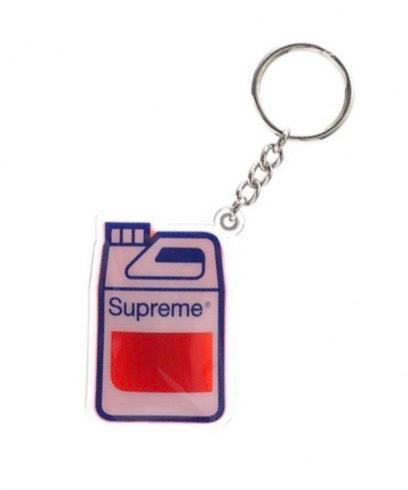 """SUPREME - Chaveiro Gasolina """"Red"""""""