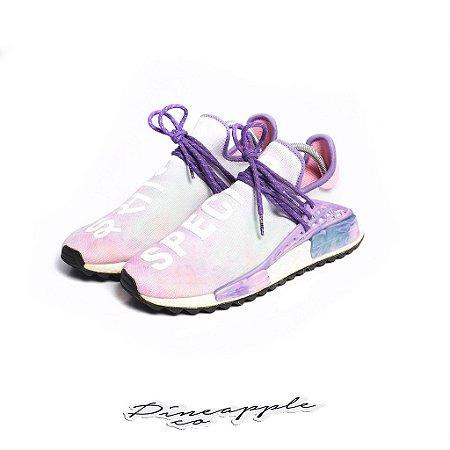Adidas X Pharrell Human Race Nmd Holi Festival Pink Glow Usado