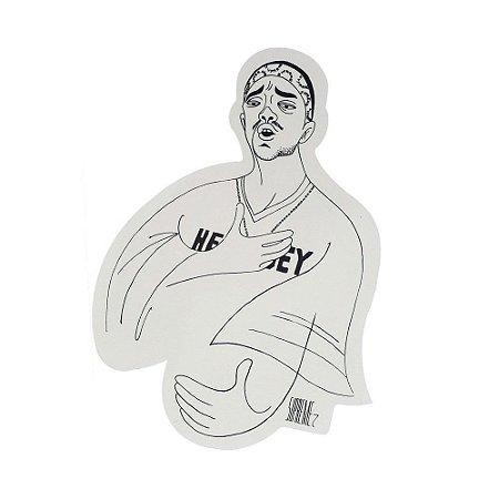SUPREME - Adesivo SS18 Mobb Deep Cartoon