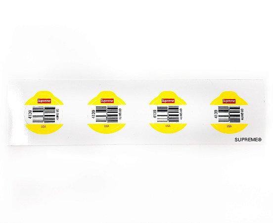 SUPREME - Adesivo SS19 Fruit Barcode Mini