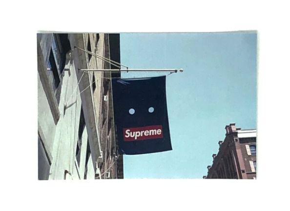 SUPREME - Adesivo FW19 Banner