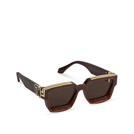 "LOUIS VUITTON - Óculos 1.1 Millionaires ""Chocolat"" -NOVO-"