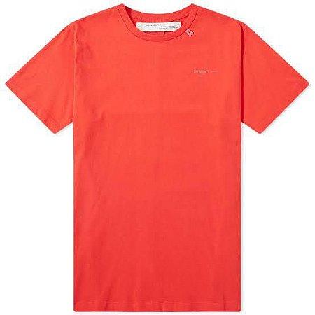 "OFF-WHITE - Camiseta Unifinished ""Red"""