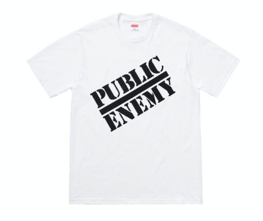 "SUPREME x UNDERCOVER/PUBLIC ENEMY - Camiseta Blow Your Mind ""White"""