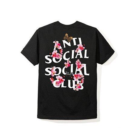 """ANTI SOCIAL SOCIAL CLUB - Camiseta Kkoch """"Preto"""" -NOVO-"""
