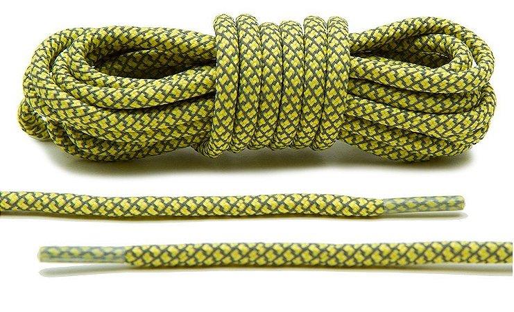 Cadarço Rope Refletivo - Amarelo - 125 cm