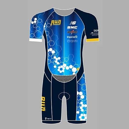 Macaquinho - JUST RUN - Triathlon COM MANGA