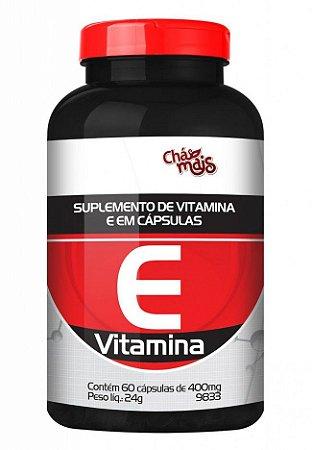 Vitamina E  60 Cápsulas 400 mgs - Chá Mais